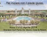 CONGRESSO NAZIONALE SIPO – Roma, 11/12 APRILE 2014