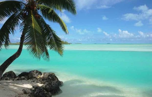 L'isola di Aitutaki, nel lontanissimo Pacifico